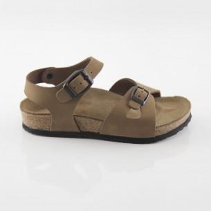 Hopscotch Hakiki Deri Kum Kız Sandalet